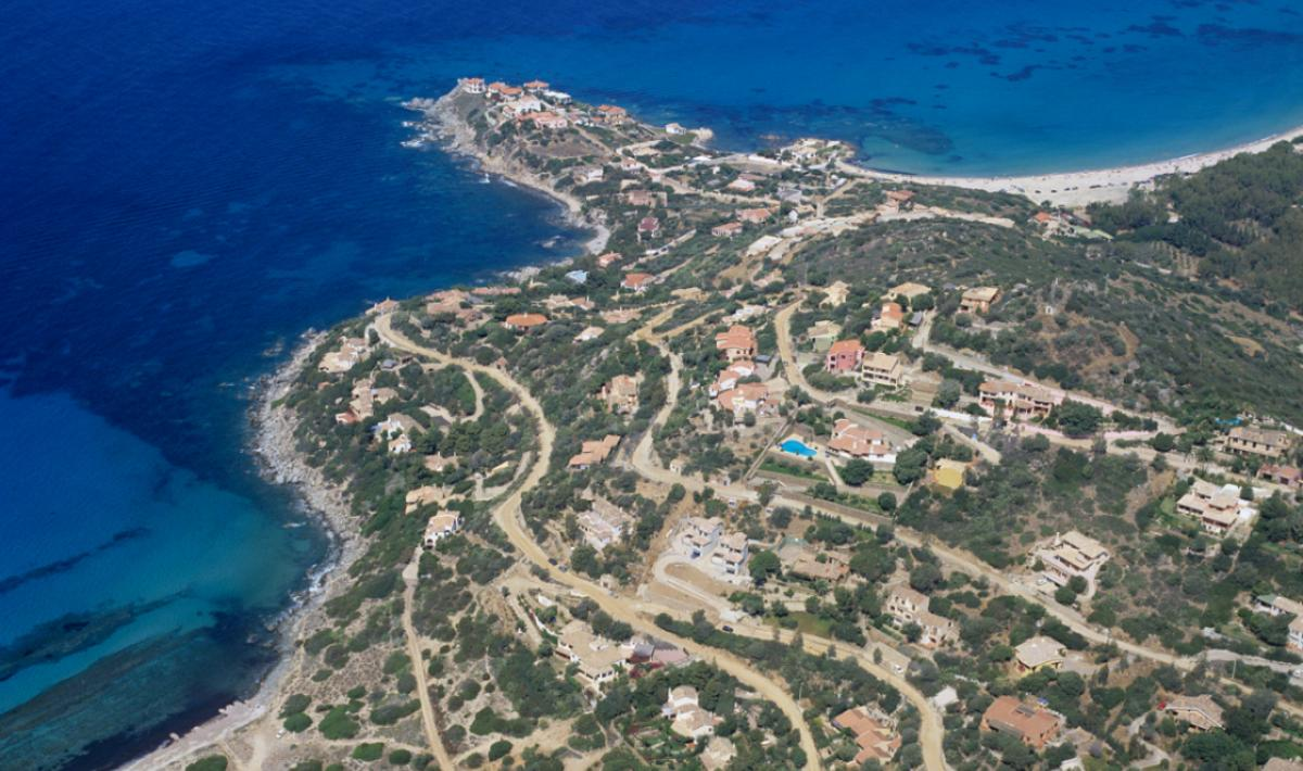Baccu Mandara, veduta del promontorio; A view from the promontory, Baccu Mandara