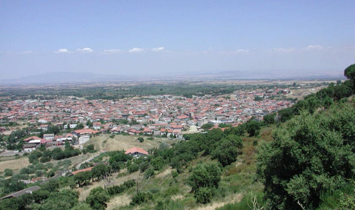 Gonnosfanadiga, panorama