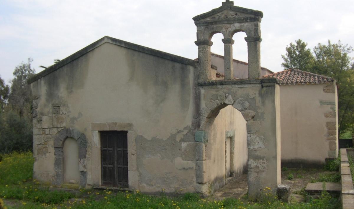 Siamaggiore, Chiesa campestre di San Ciriaco