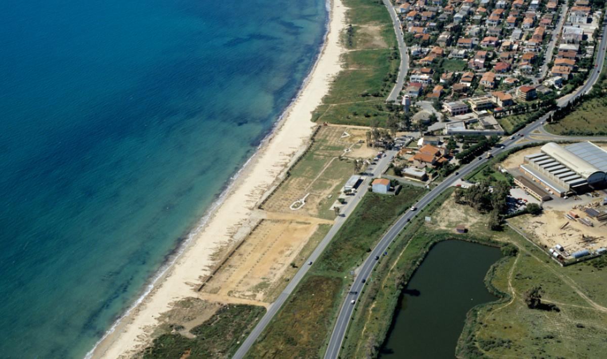 Capoterra, La Maddalena Spiaggia; The beach of La Maddalena, Capoterra