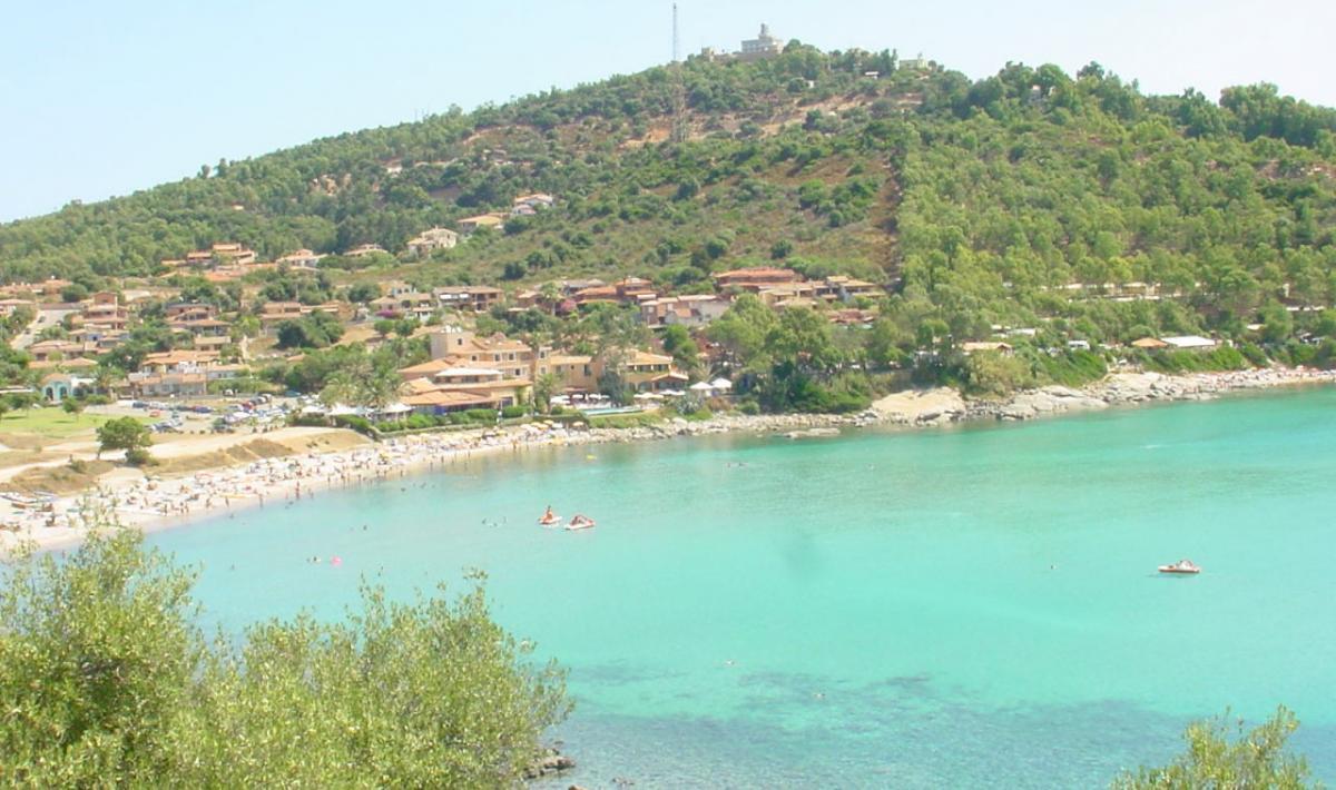 Baia di Portu Frailis; The beach of Porto Frailis, Arbatax