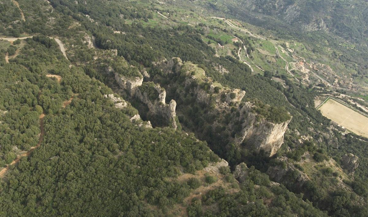 Osini, Scala di San Giorgio; The narrow gorge of Scala di San Giorgio