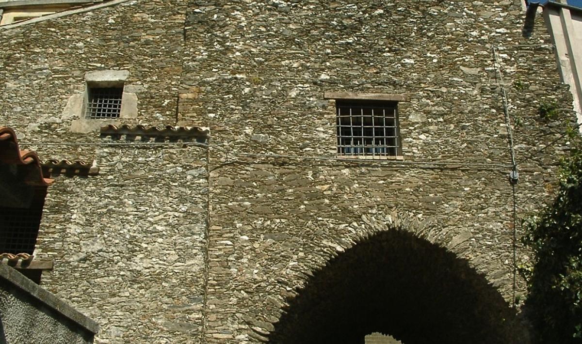 Carcere spagnolo, facciata - Aritzo