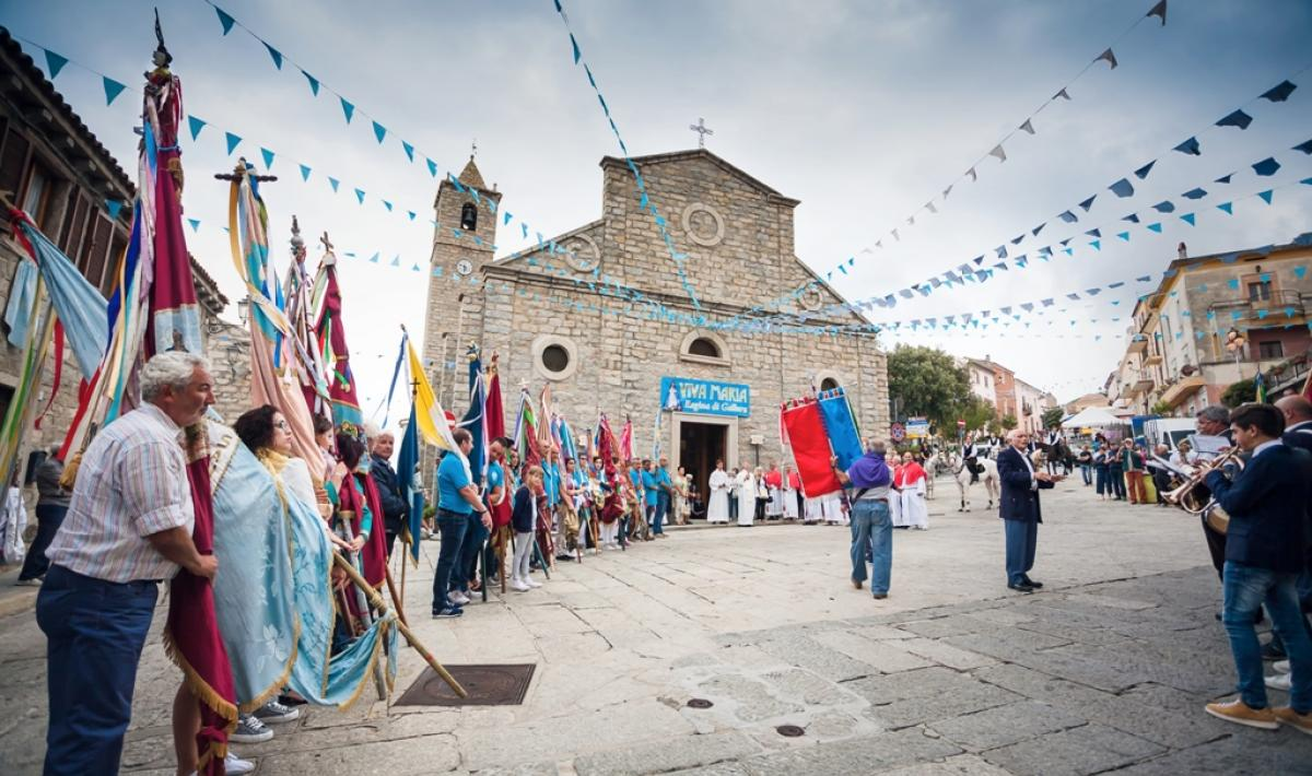 Festa di li banderi - Nostra Signora di Luogosanto