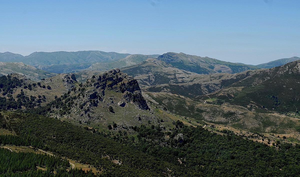 monte Fumai vista monte Novo san Giovanni