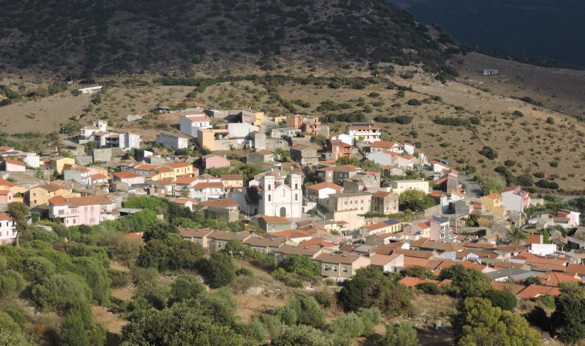 Veduta di San Nicolò Gerrei