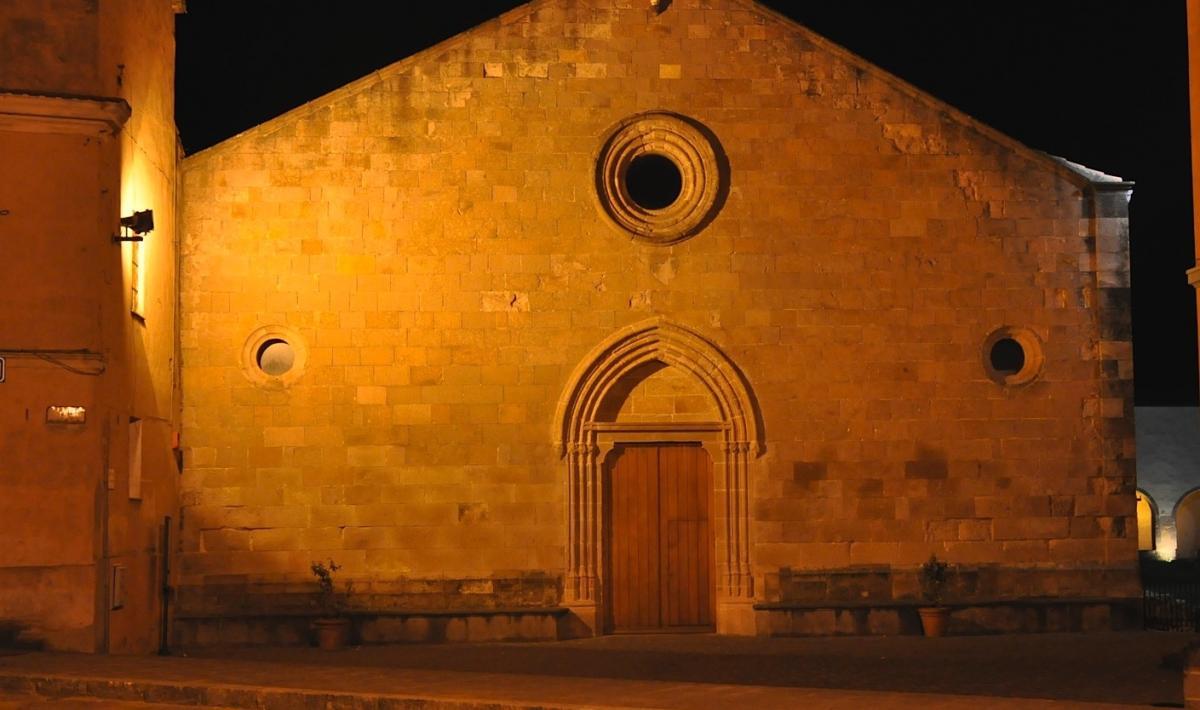 Chiesa di san Francesco, facciata - Iglesias