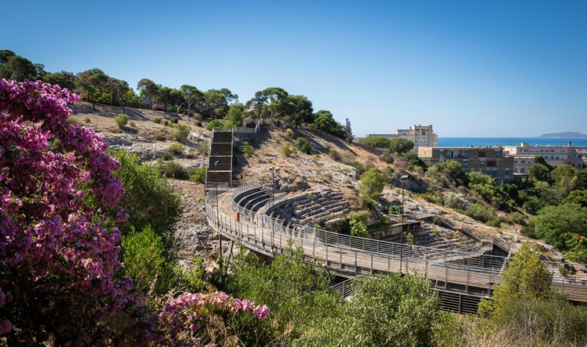 Veduta dell'Anfiteatro romano - Cagliari