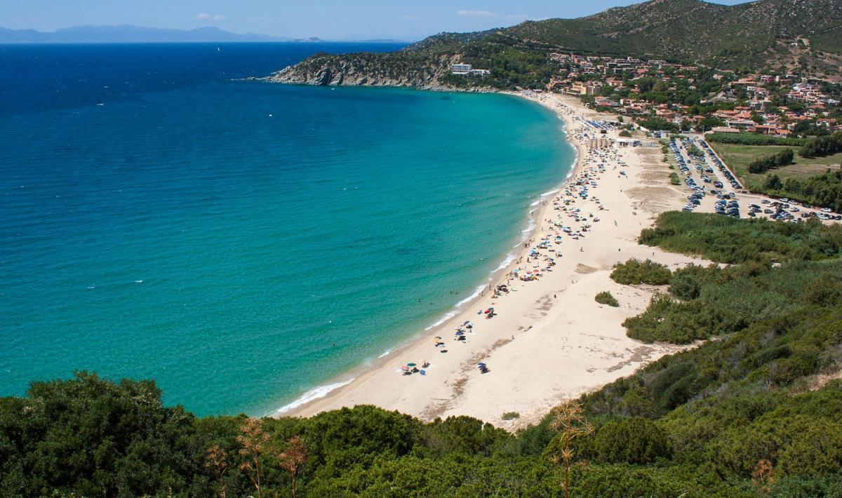 Spiaggia di Solanas - Golfo degli Angeli