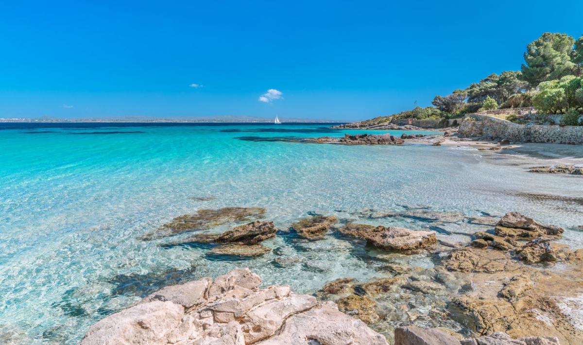 Spiaggia Girin - isola di san Pietro - Carloforte