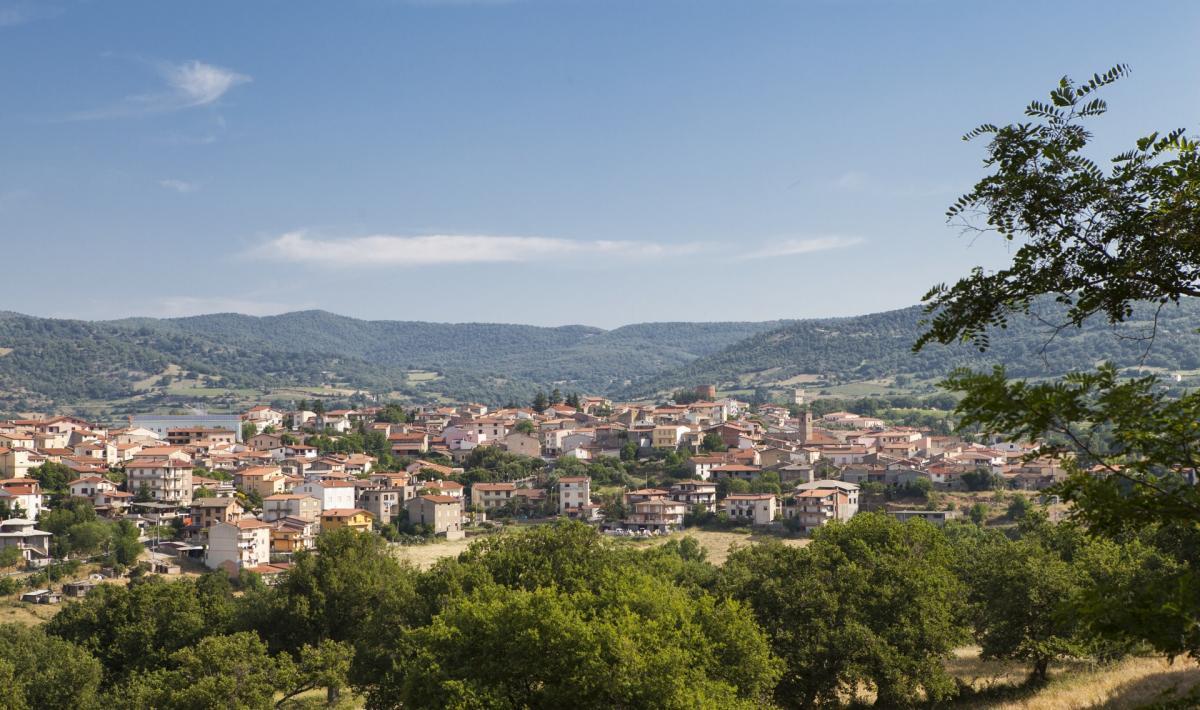 Veduta panoramica - Atzara