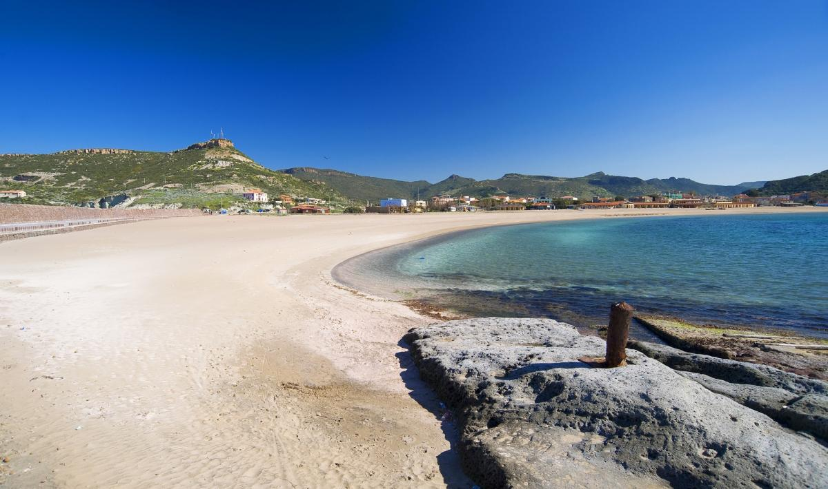 Bosa Marina, spiaggia