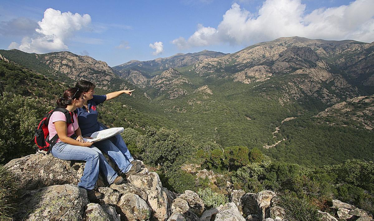 Monte Linas, Oridda, Marganai
