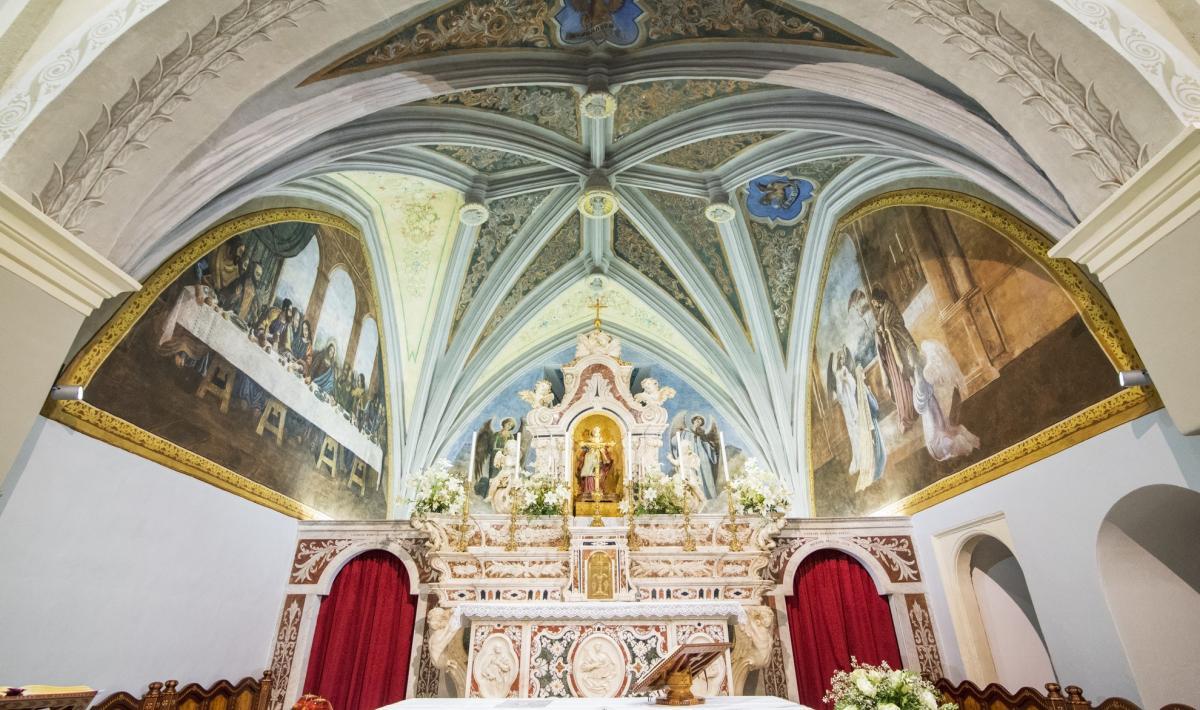 Chiesa di santa Barbara, interno - Villacidro