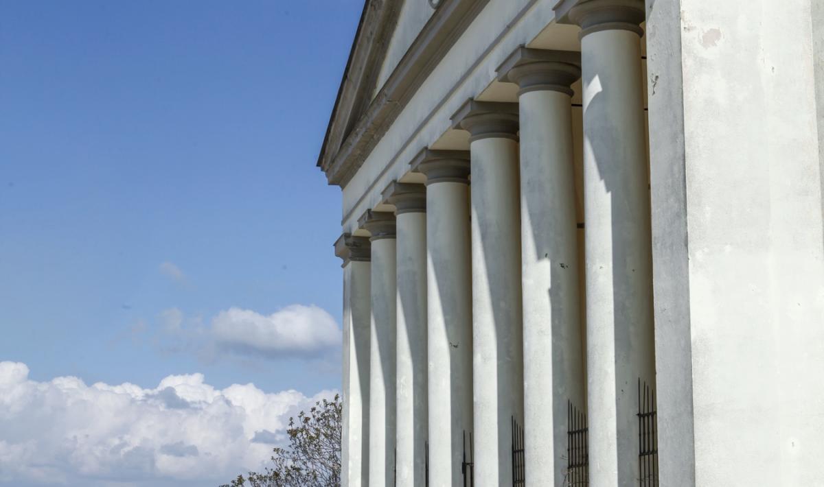 Parrocchiale della Beata Vergine Assunta , facciata - Guasila