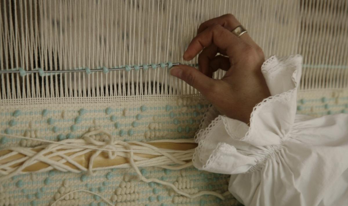 Tessitura al telaio - Ulassai