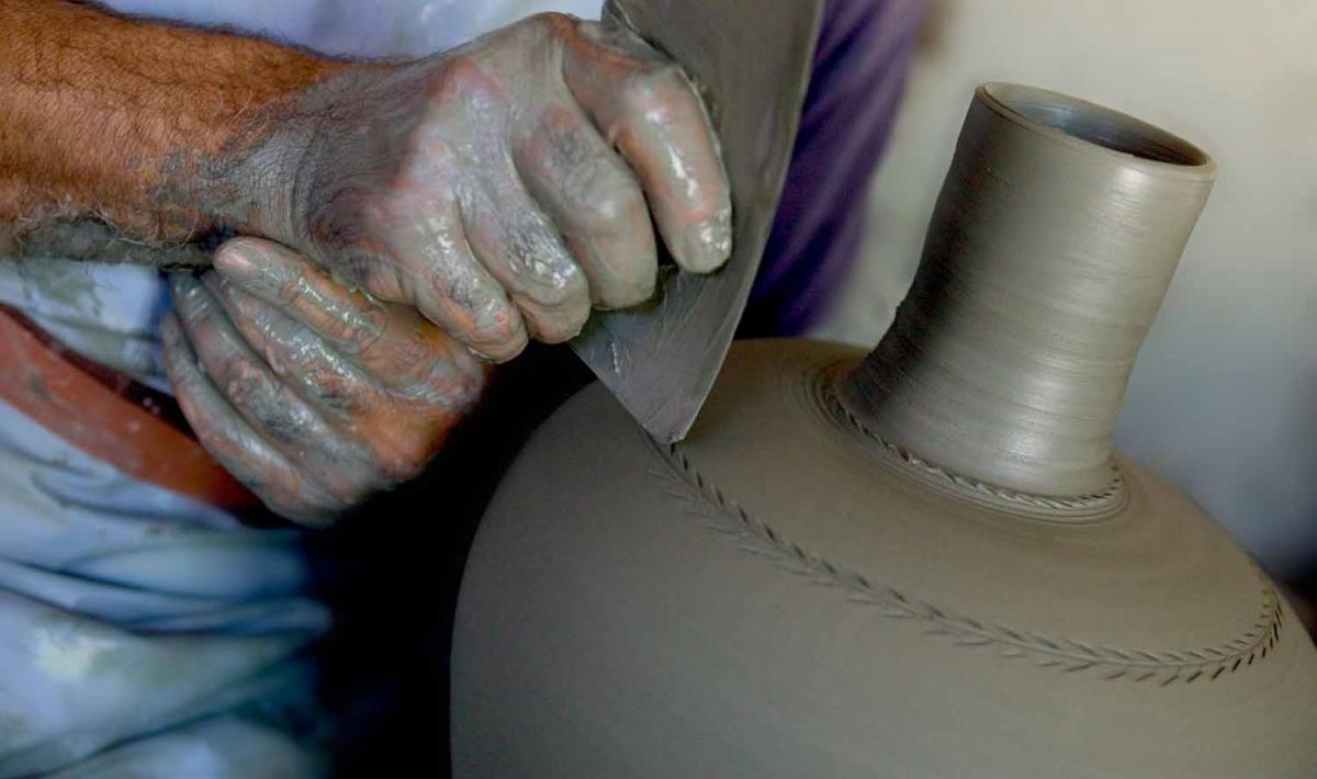 Lavorazione ceramica - Assemini