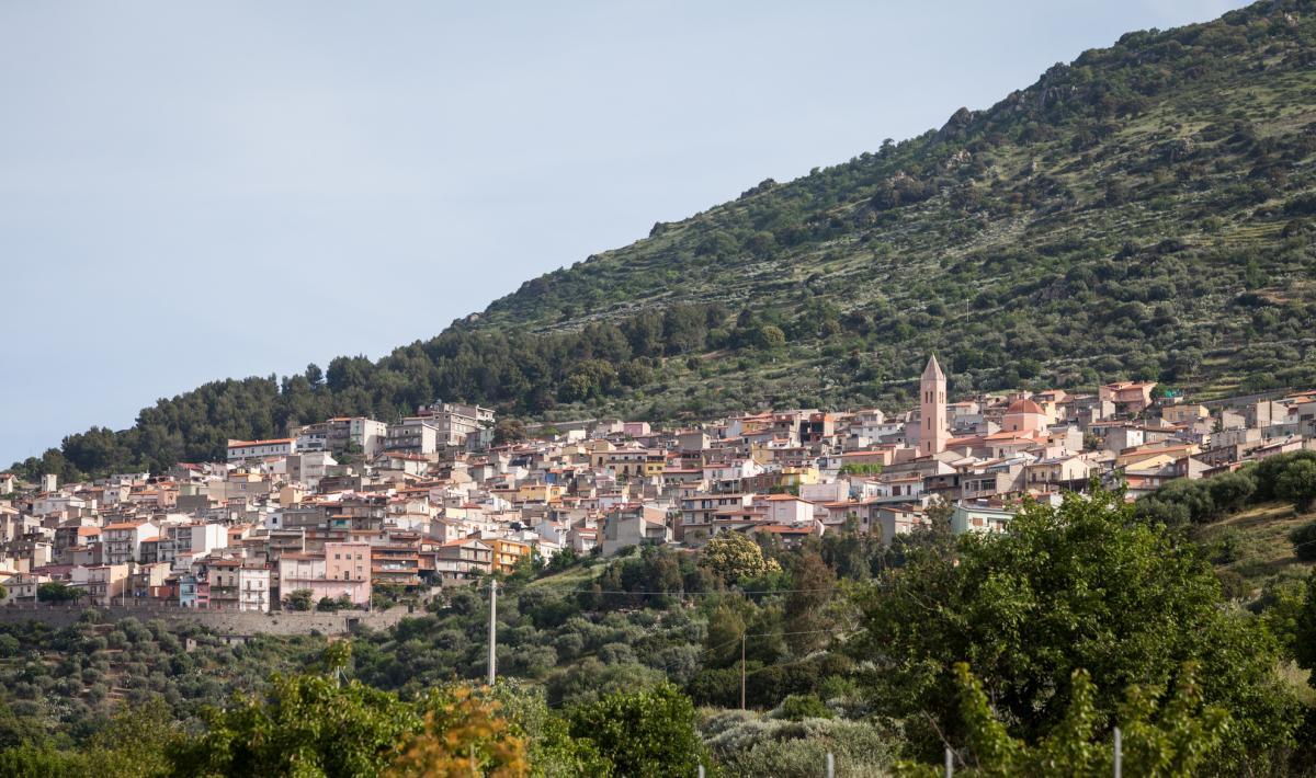 Veduta di Bolotana