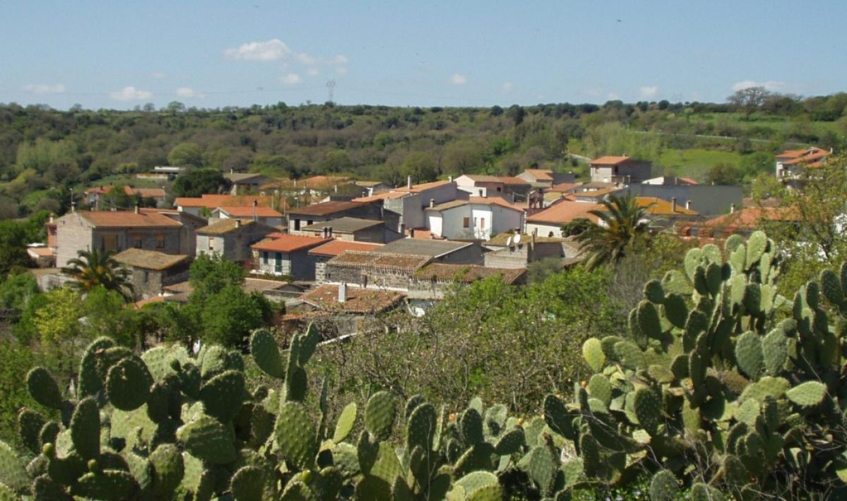 Veduta di Boroneddu