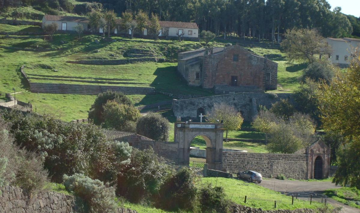 Santurario di san Costantino - Sedilo