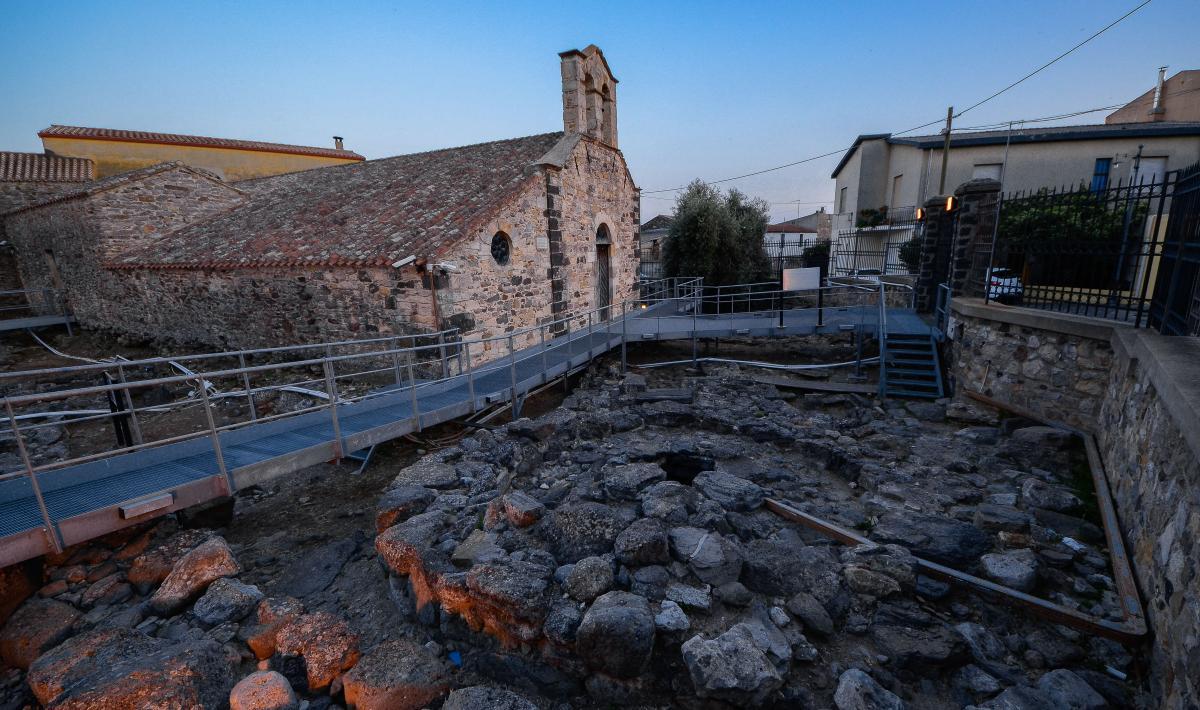 Ingresso pozzo sacro di sant'Anastasia - Sardara