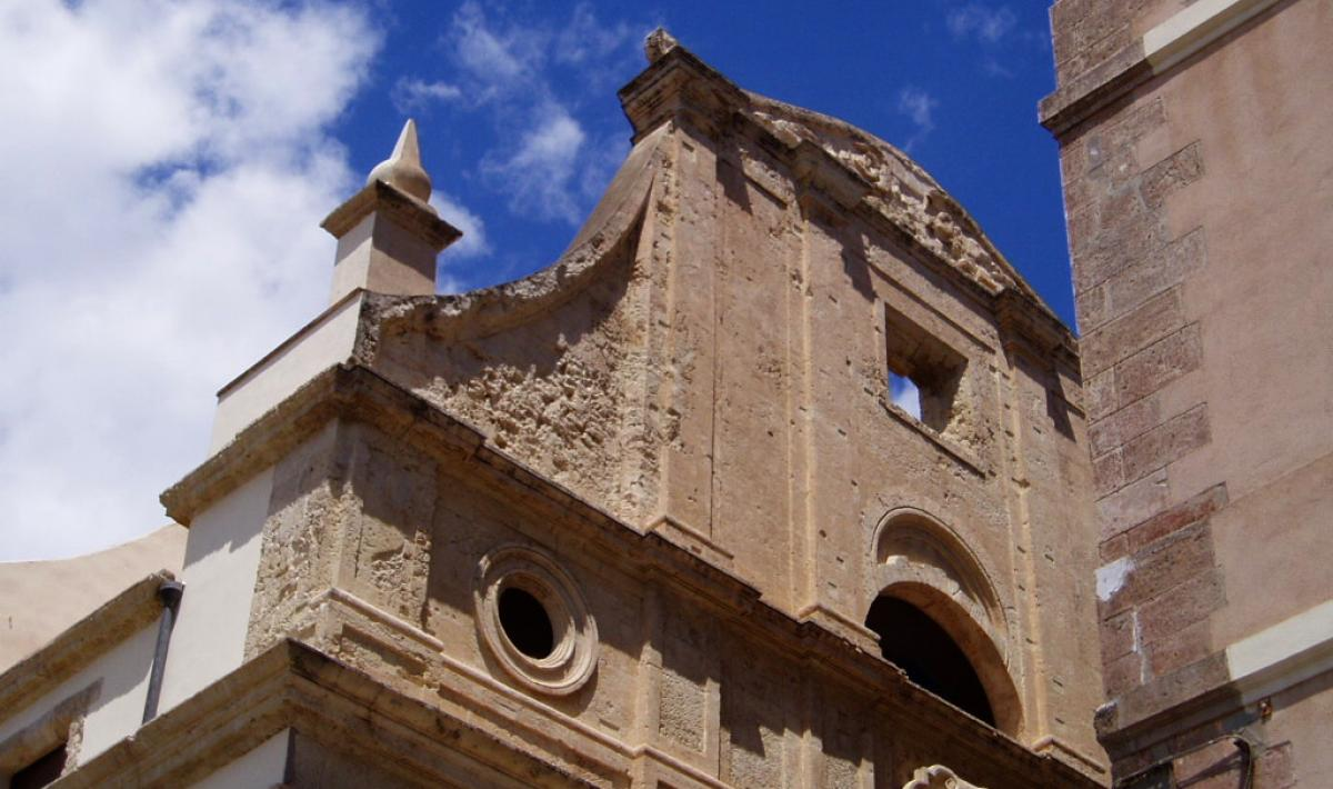 Basilica di Santa Croce, facciata - Cagliari