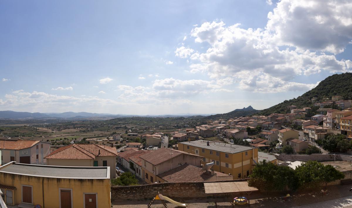 Veduta di Berchidda