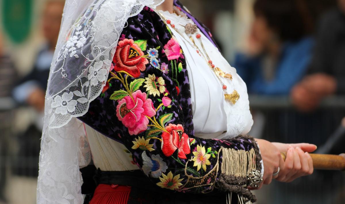 Abito tradizionale femminile - Siligo