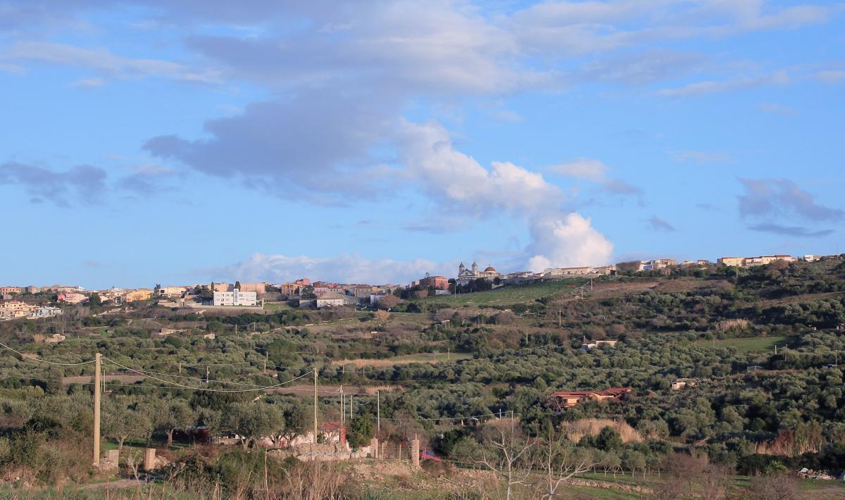 Veduta di Tresnuraghes