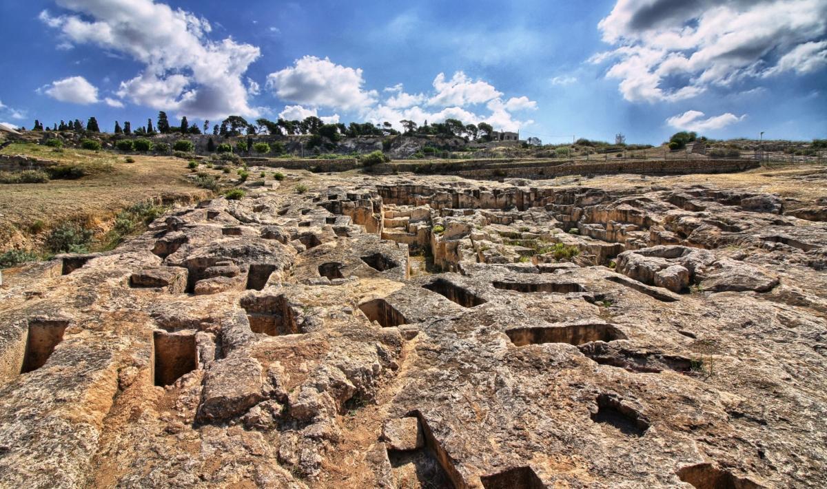 Necropoli di Tuvixeddu - Cagliari