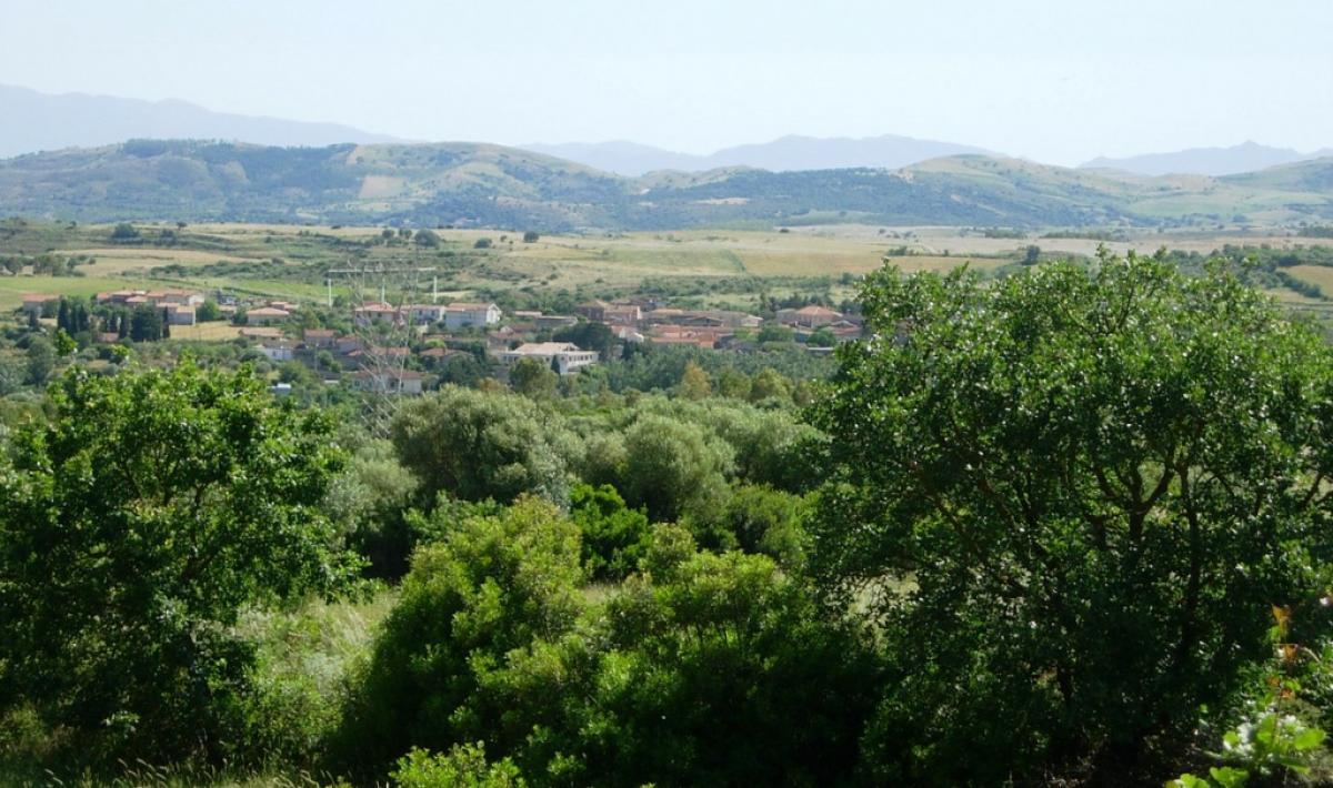 Panorama di Albagiara