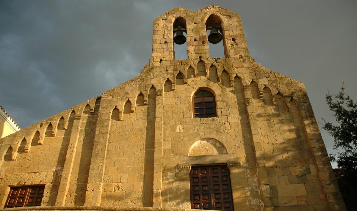 Chiesa di san Pietro, facciata - Villamar