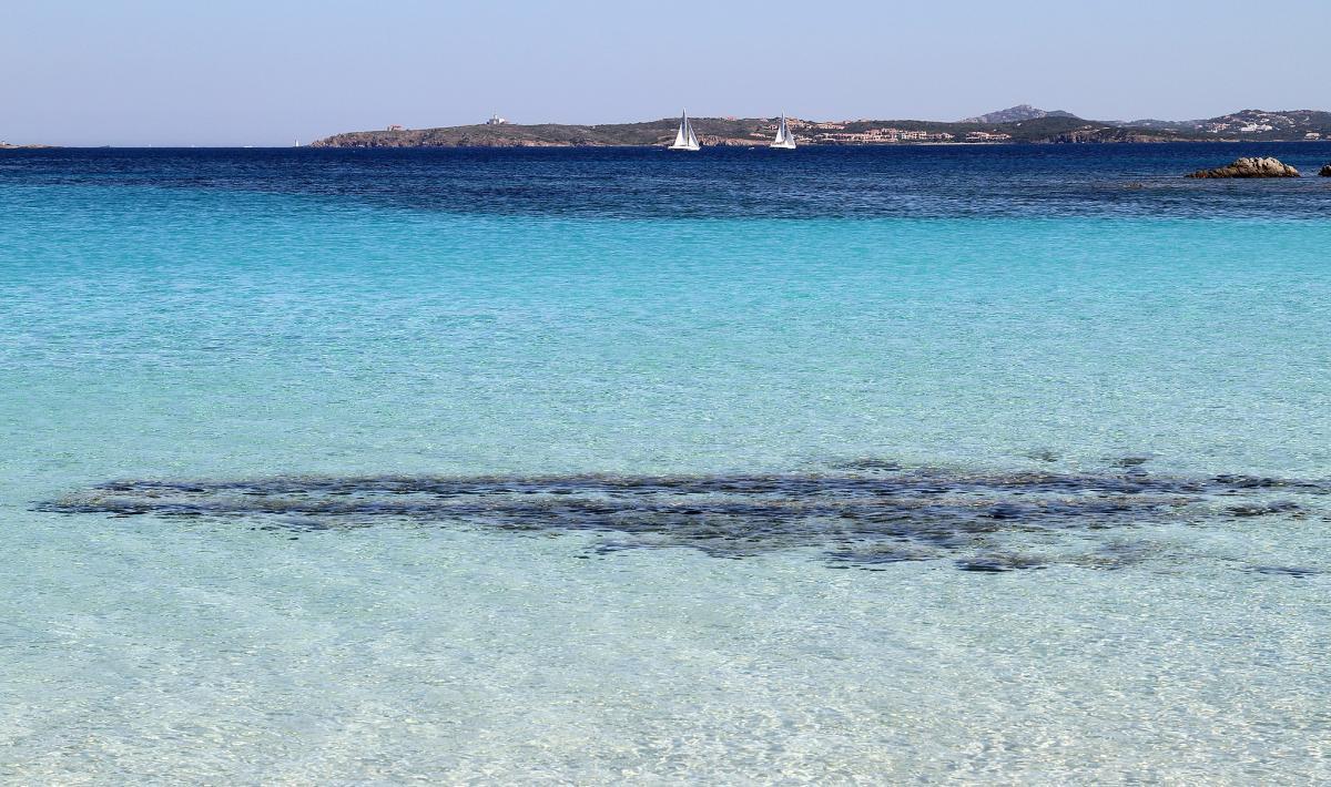 Acqua della Spiaggia del Relitto - Caprera