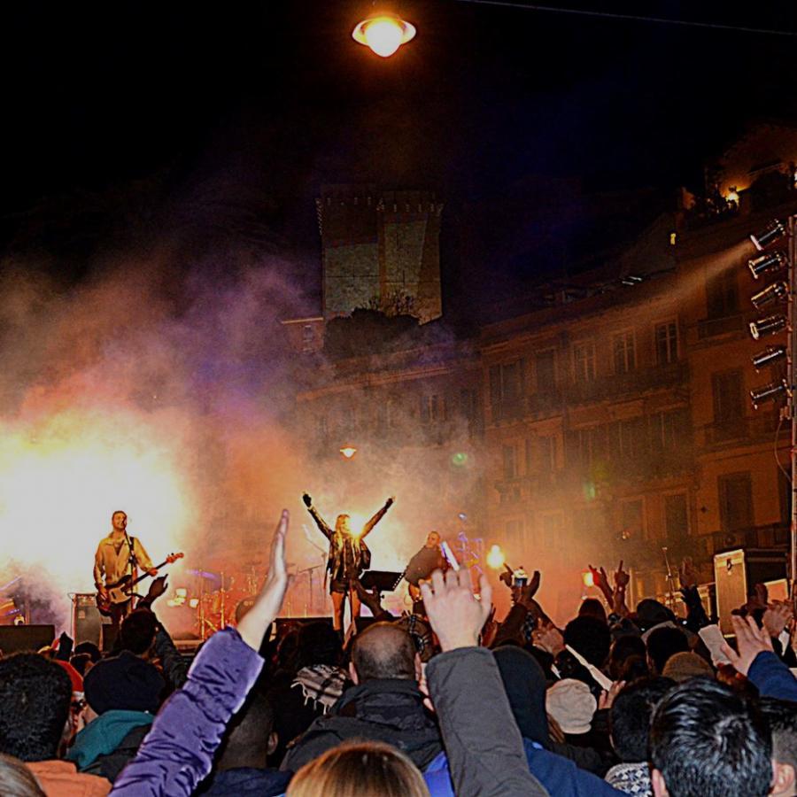 Capodanno, piazza Yenne - Cagliari
