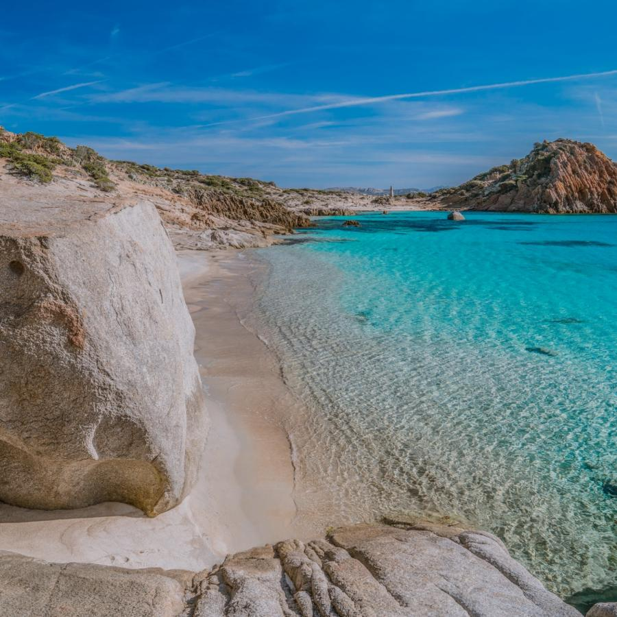 Cala Corsara - isola di Spargi - arcipelago della Maddalena