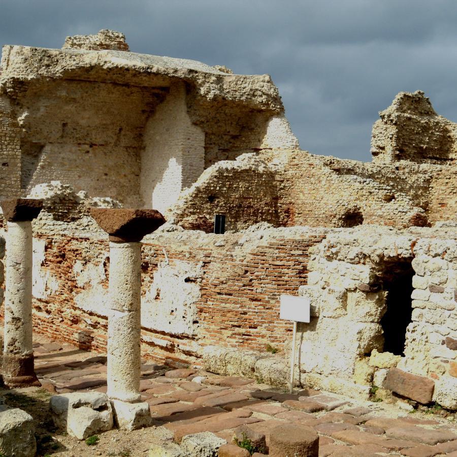 Turris Libisonis -  Colonia Julia - Palazzo di re barbaro