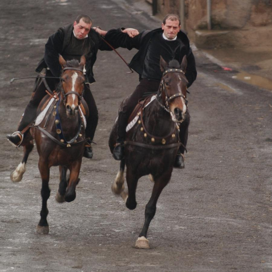 Sa Carrela 'e nanti, cavalieri - Santu Lussurgiu