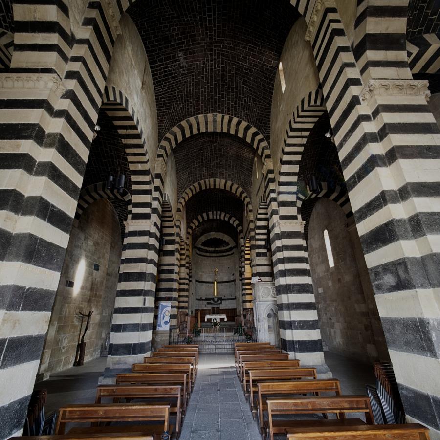 San Pietro di Sorres, interno - Borutta