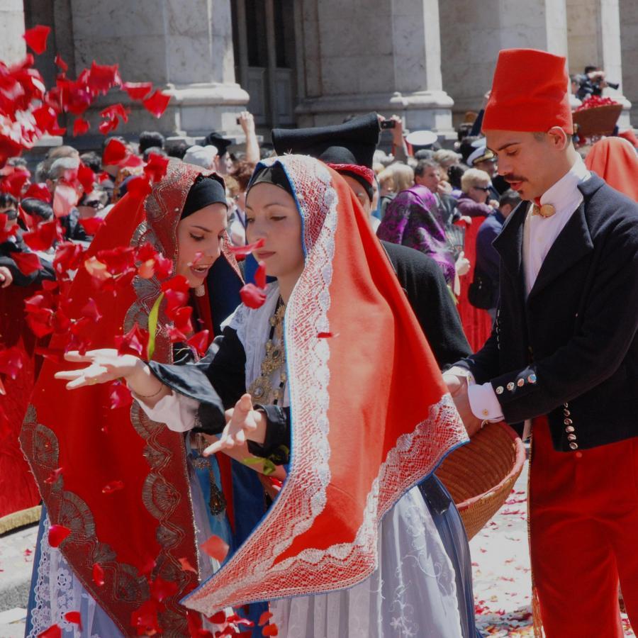 Rito de sa ramadura_Festa Sant'Efisio