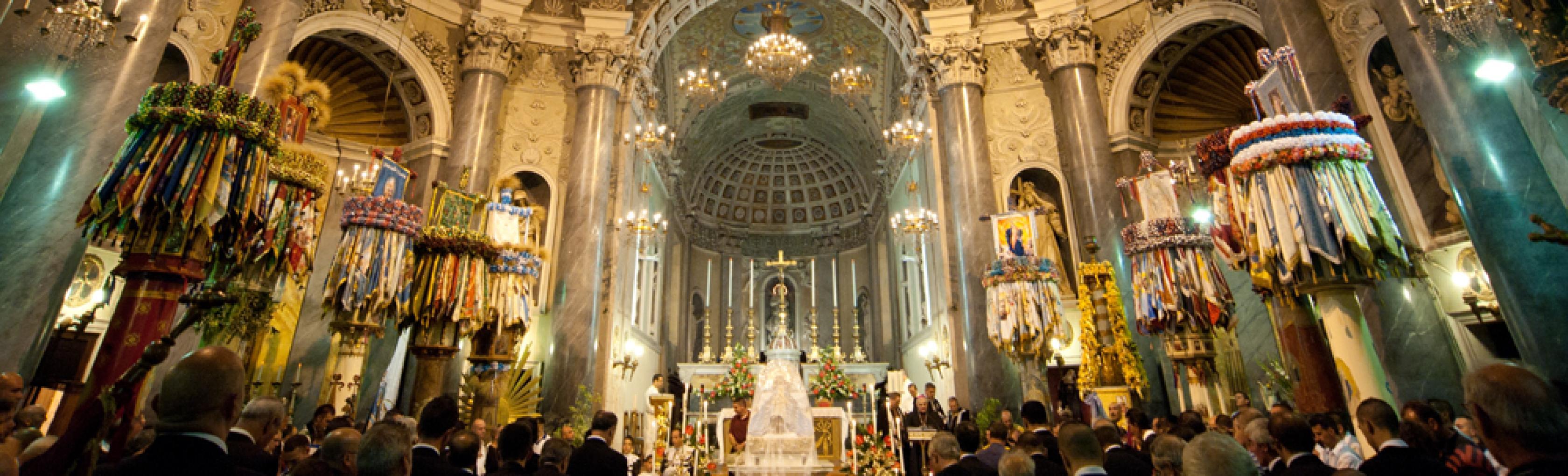 Candelieri - Chiesa di santa Maria