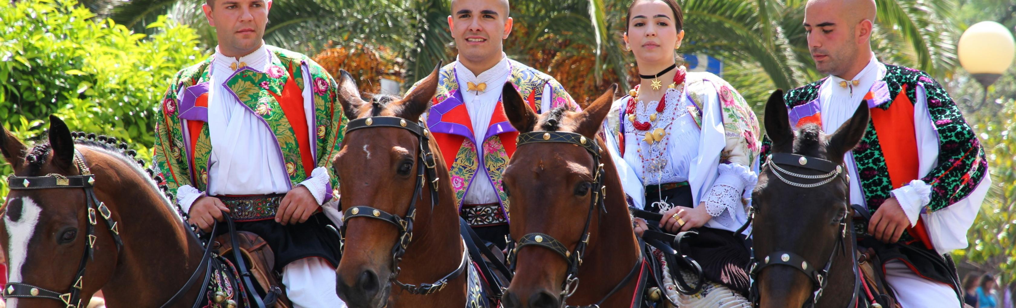 Cavalieri di Oliena - Cavalcata sarda