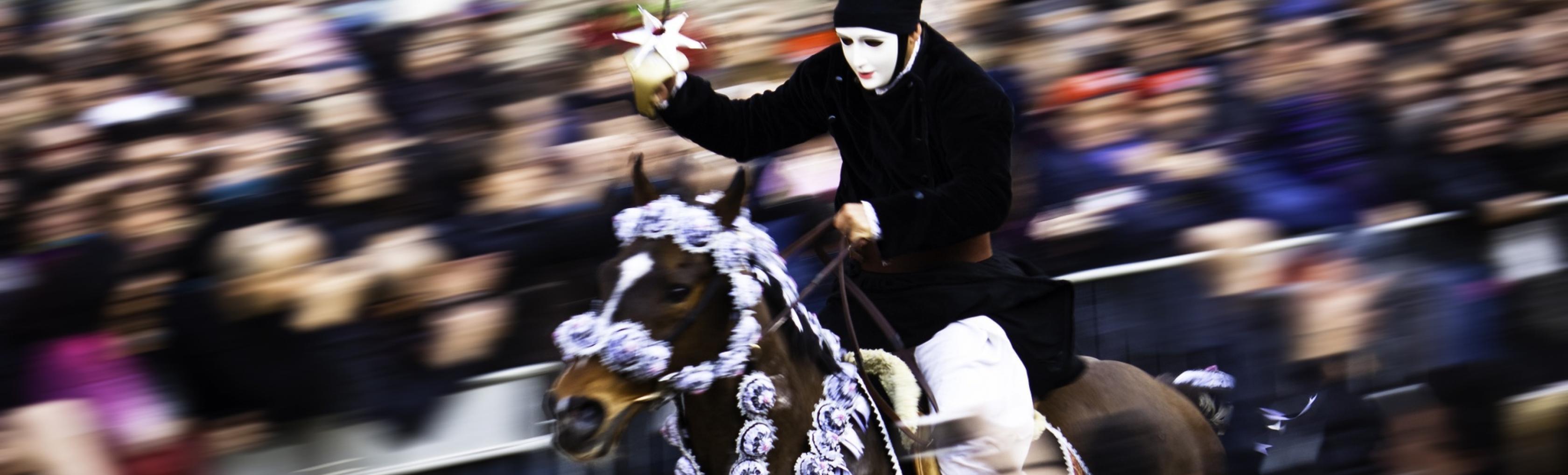 Tempo Eines Pferderennens