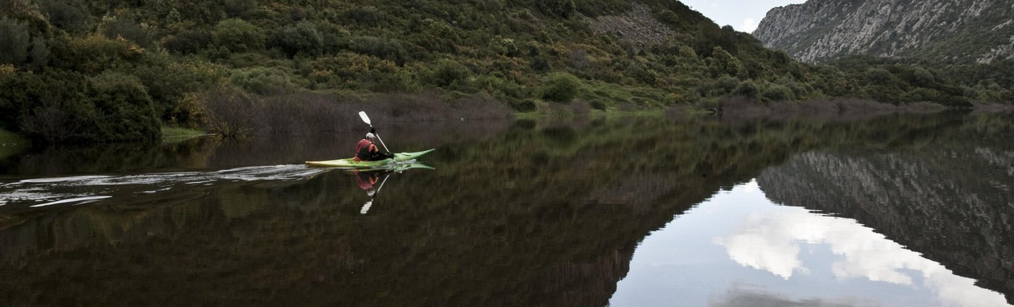Kayak Lago Cedrino